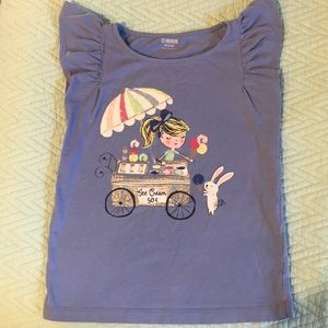 Girls t-shirt, good condition, no stains